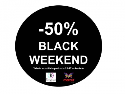 Profită de BLACK WEEKEND  în magazinul Beauty for You!