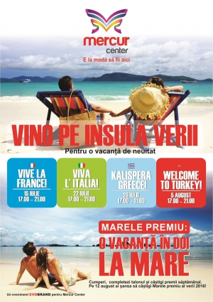 Insula verii - Mercur Center