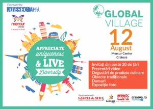 Global Village la Mercur Center Craiova