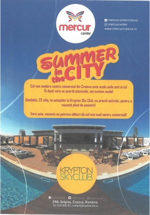 Mercur Center - Summer In The City