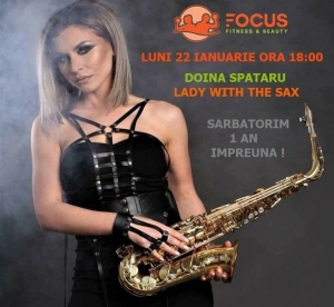 Focus Fitness & Beauty din Mercur Center sarbatoreste 1 an