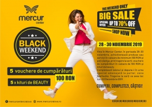 Black Weekend 2019 - Mercur Center
